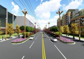 绵阳科技城集中发展区核心区三条道路(安州区滨河南路、规划次干路1号、龙界路)
