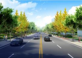 安州区滨河北路道路建设工程