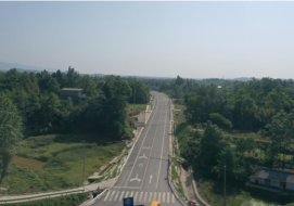 罗浮山温泉康养小镇环线公路工程项目